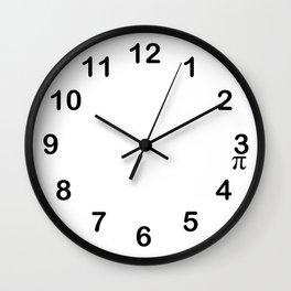 Pi 3:15 Wall Clock