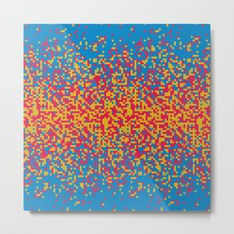 Tiny colorful spheres Metal Print