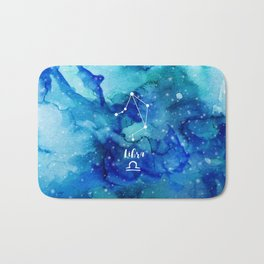 Libra constellation Bath Mat