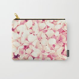 Rose Pink Flowers (Hydrangea) Carry-All Pouch
