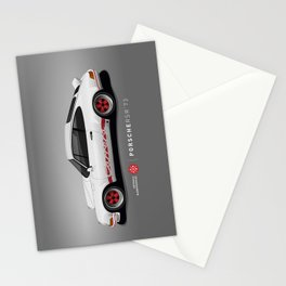 Porsche 911 2.7 RS - White/Red Stationery Cards
