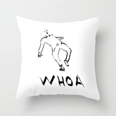 Movie Scene Throw Pillow