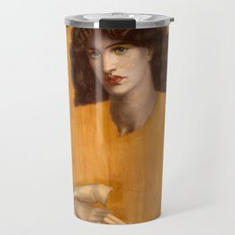 Dante Gabriel Rossetti, The Lady of Pity, 1881 Travel Mug