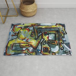 """""""Living For Happiness"""" Rug"""