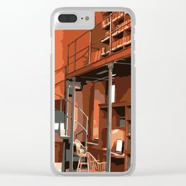 Boston Public Library, Boston, MA Clear iPhone Case
