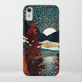 Star Sky Reflection iPhone Case