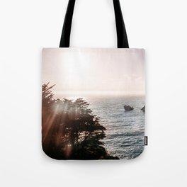 California Coastal Mist Tote Bag