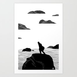 Amos Art Print