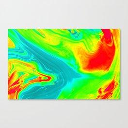 Thermal art 097 Canvas Print