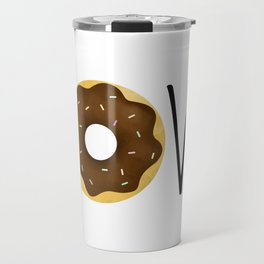 I Love Donuts Travel Mug