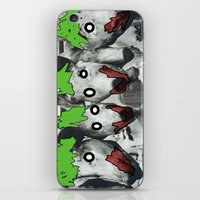 pigs iPhone & iPod Skins featuring pigs by blaf