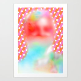 Candied Complexion Art Print