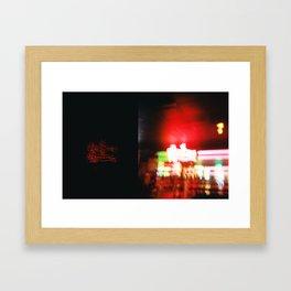 Double Deuce Framed Art Print