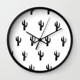 Saguaro Stamp Wall Clock
