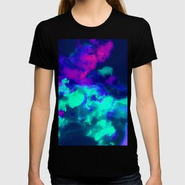 Glowing Grapes - Fruity Ink Fluid T-shirt