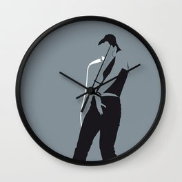 No077 MY Nelly Furtado Minimal Music poster Wall Clock