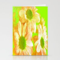 vintage flowers Stationery Cards featuring Vintage Flowers by Vitta