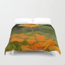 Tall Poppy Duvet Cover