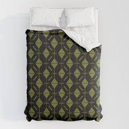 Dirty Martini // Black Olive Reverse Comforters