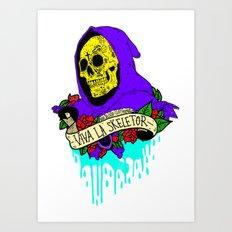 Viva La Skeletor Art Print