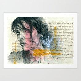 ange Art Print
