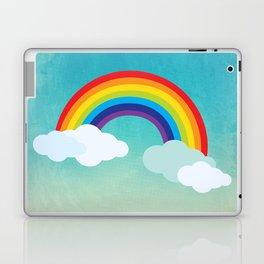 Rainbow in the sky , nursery decor , children gift, birthday gift Laptop & iPad Skin
