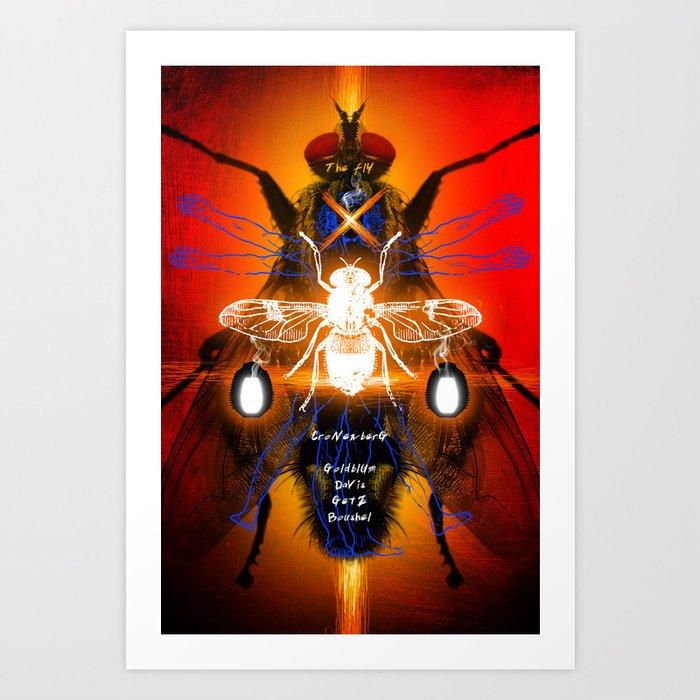 DAVID CRONENBERG SERIES :: THE FLY Art Print