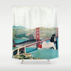 Mermaid Three Shower Curtain
