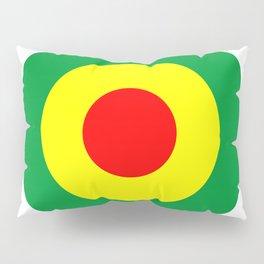 Rasta Reggae Dub Roundel Pillow Sham