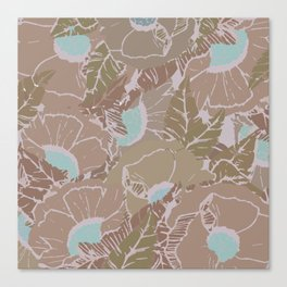 Tropi-fall Canvas Print