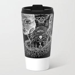 Secrets of Your Skull Metal Travel Mug