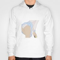 tennis Hoodies featuring TENNIS by Marine Marbleindex