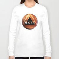 30 seconds to mars Long Sleeve T-shirts featuring 30 Seconds to Mars by AshThePixster