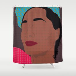Miss Ross if you're nasty Shower Curtain