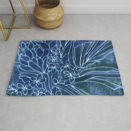 Pretty Dungarees Rug