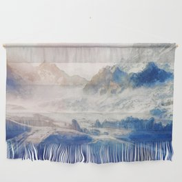 Mountain Winter Dream Wall Hanging