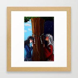 Distance - Inuyasha Framed Art Print
