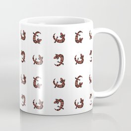 Gila Monster Pattern Coffee Mug