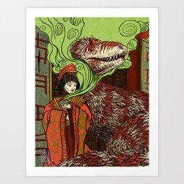 Ancient Empress Art Print