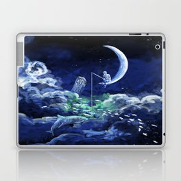 The Doctor Dreaming Of Fishing Laptop & iPad Skin