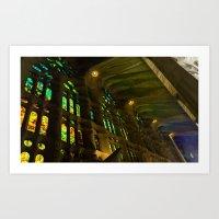 Sagrada Familia #6 Art Print