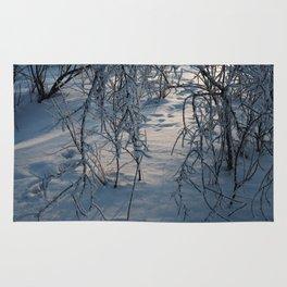 Winter trail Rug