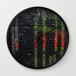 Toil Wall Clock
