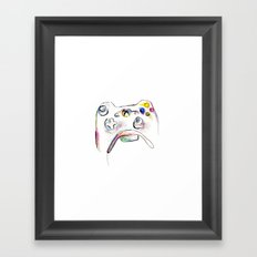360 Framed Art Print