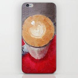 I Heart Coffee iPhone Skin
