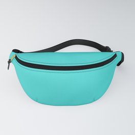 Californian Coral Solid Color Block Fanny Pack
