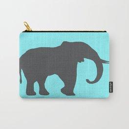 Simplistic Elephant Carry-All Pouch
