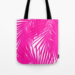 Palms Fuchsia Tote Bag