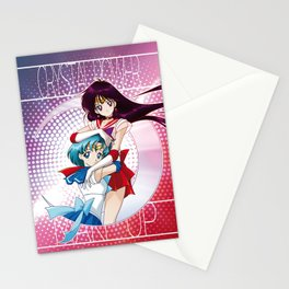 Sailor Moon Super S - Mars & Mercury Cryacstal Power! Stationery Cards