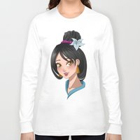 mulan Long Sleeve T-shirts featuring [Mulan] Bride by Underground Cities